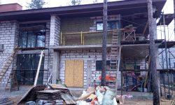 Монтаж вентилируемого фасада 2 в КП «Охтинский парк»