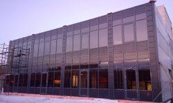 Остекление торгово-офисного здания