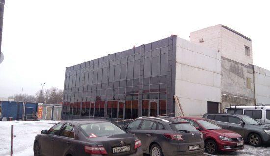 Остекление фасадов зданий и коттеджей